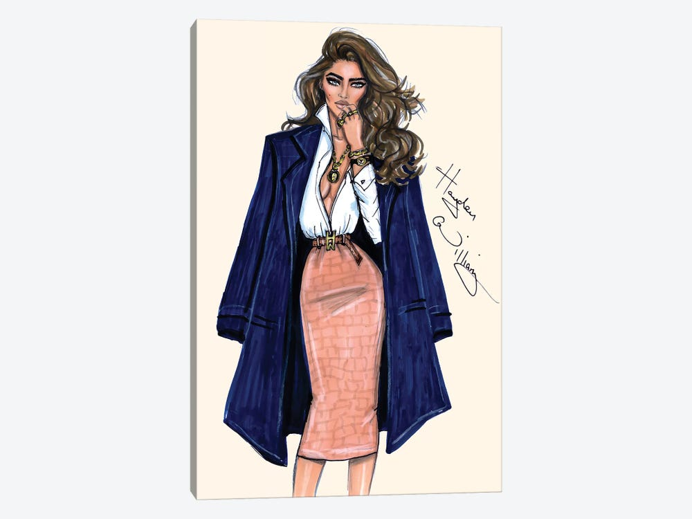 True Classic by Hayden Williams 1-piece Canvas Wall Art