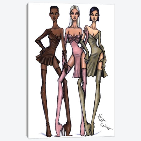 Pose The House Down Canvas Print #HWI46} by Hayden Williams Canvas Art