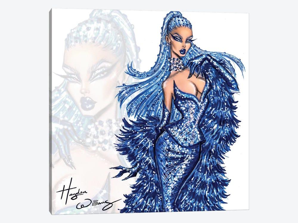 Blue Blood by Hayden Williams 1-piece Canvas Art