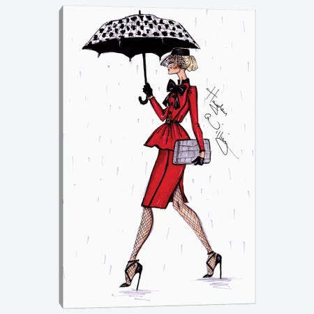 April Showers Canvas Print #HWI50} by Hayden Williams Canvas Artwork