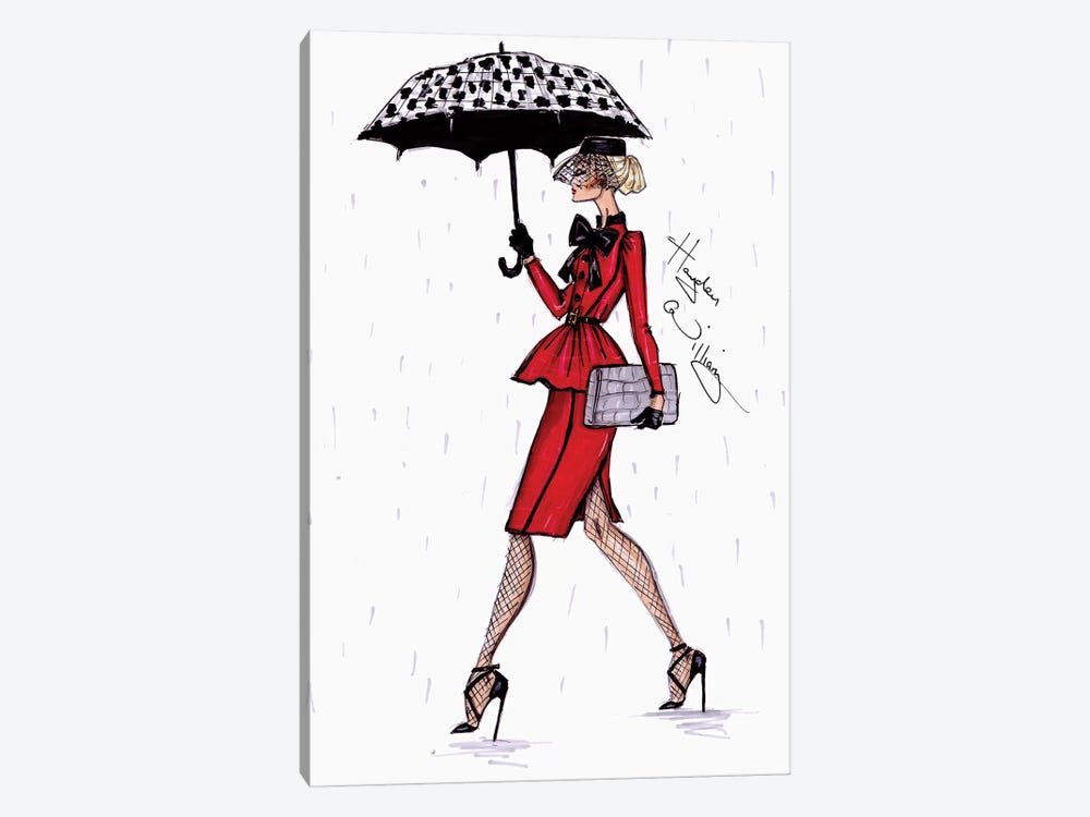 April Showers by Hayden Williams 1-piece Canvas Print