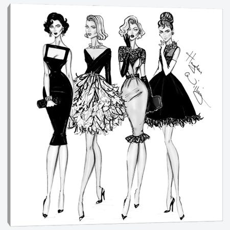 Iconic Women 3-Piece Canvas #HWI66} by Hayden Williams Canvas Art