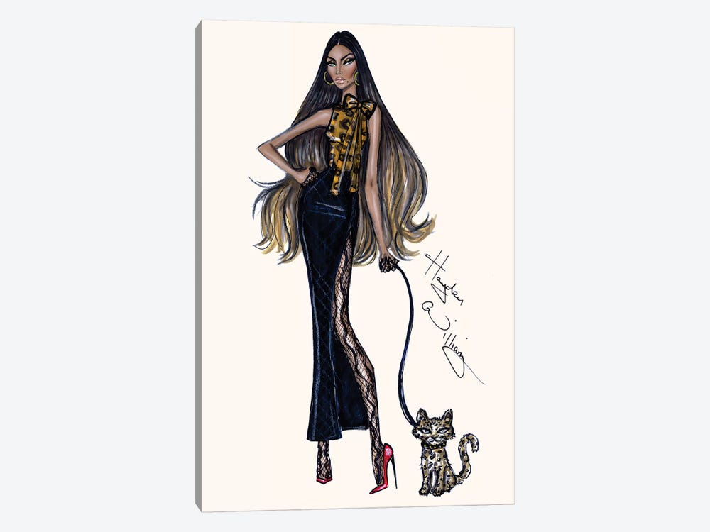 Feline Fabulous by Hayden Williams 1-piece Canvas Print