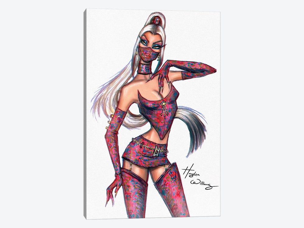 Fashion Ninja by Hayden Williams 1-piece Art Print