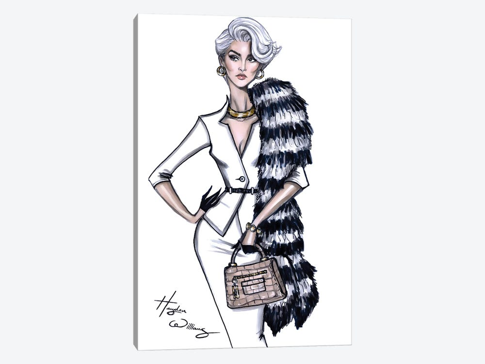 Miranda Priestly by Hayden Williams 1-piece Canvas Wall Art