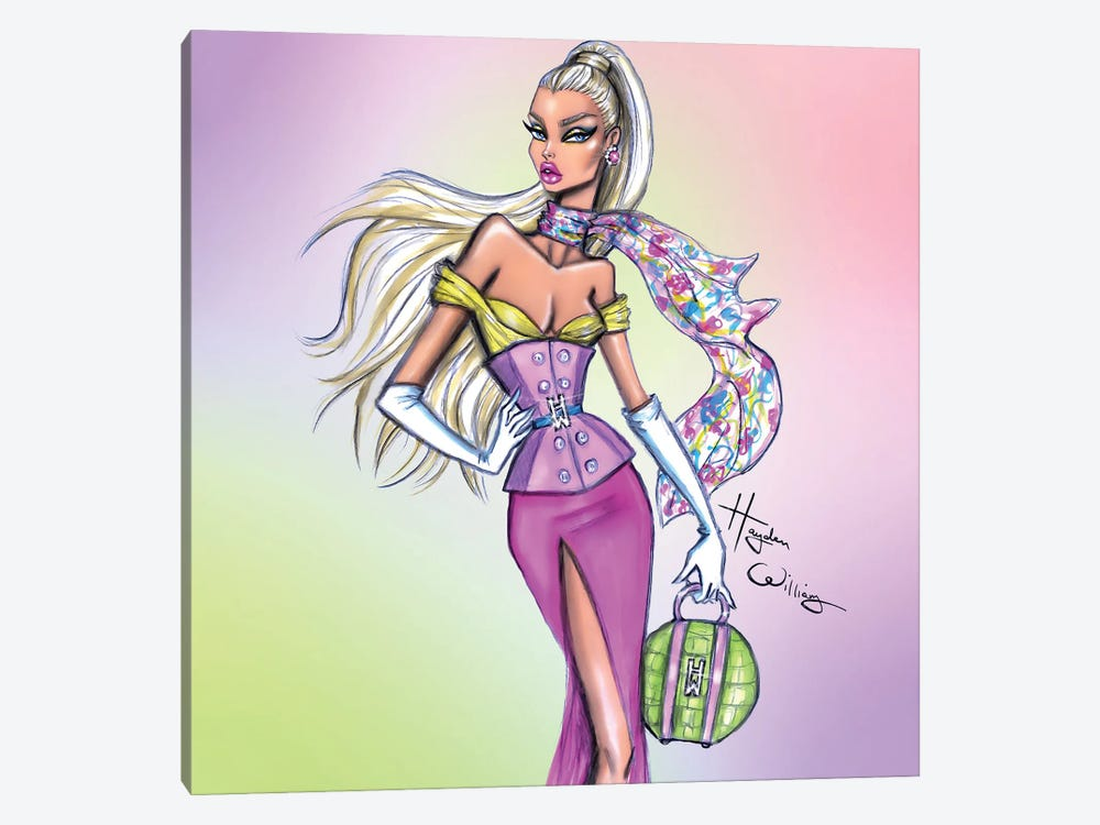 Pops of Colour by Hayden Williams 1-piece Canvas Print