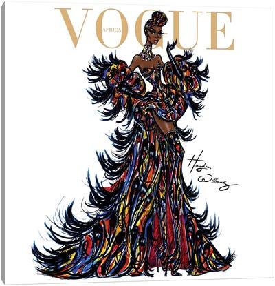 Vogue Africa Canvas Art Print