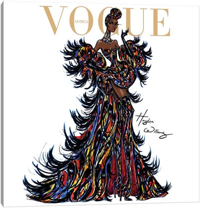 Vogue Africa Canvas Art Print