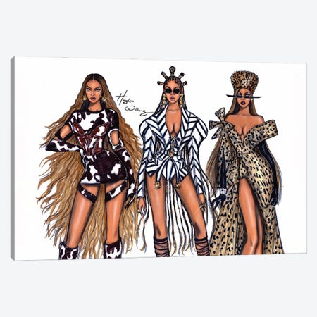 Black Is King Canvas Print #HWI82} by Hayden Williams Canvas Art Print