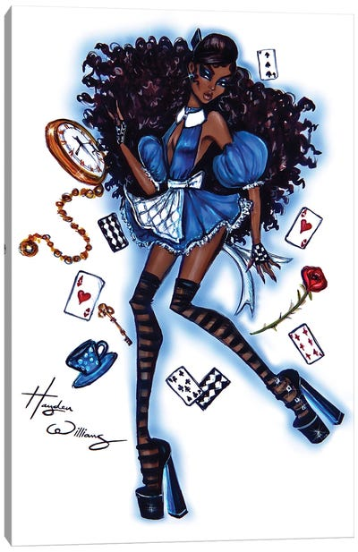 Alice in Wonderland Canvas Art Print