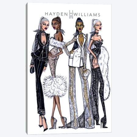 Haute Couture Canvas Print #HWI93} by Hayden Williams Canvas Artwork