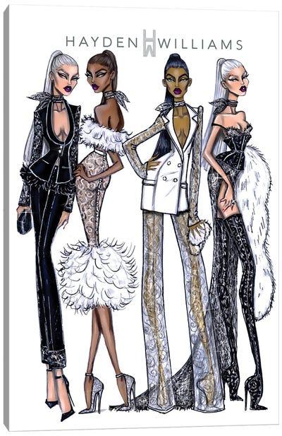 Haute Couture Canvas Art Print