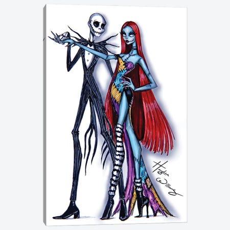 Beautiful Nightmare Canvas Print #HWI95} by Hayden Williams Canvas Art Print