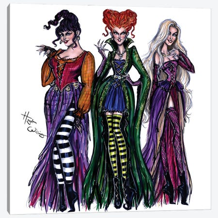 I Put A Spell On You Canvas Print #HWI98} by Hayden Williams Canvas Artwork