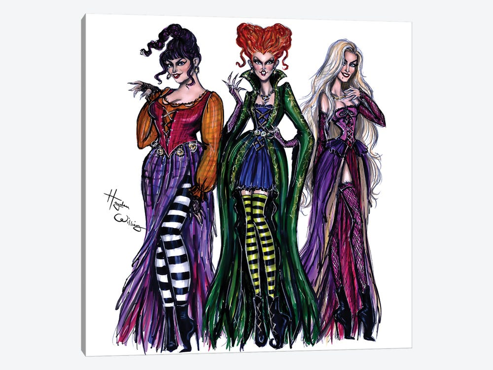 I Put A Spell On You by Hayden Williams 1-piece Canvas Print