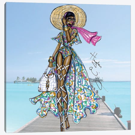 Life Of Luxury Canvas Print #HWI9} by Hayden Williams Canvas Wall Art