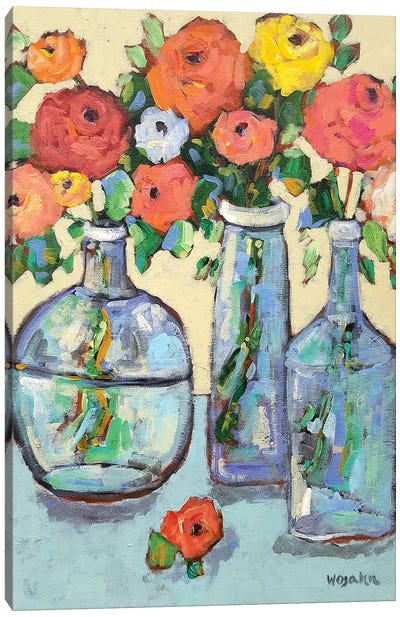 More Buds In A Bottle Canvas Art Print