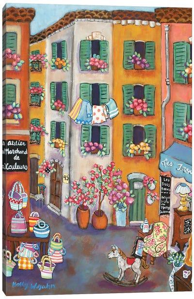 Vieux Ville Canvas Art Print
