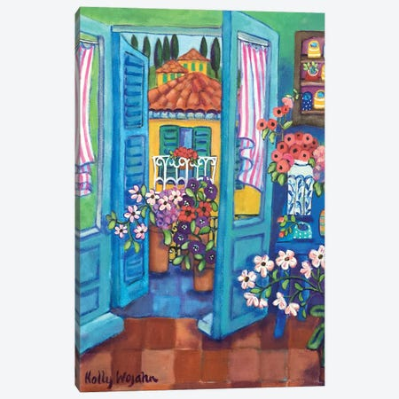 View By My Terrace Canvas Print #HWJ27} by Holly Wojahn Art Print