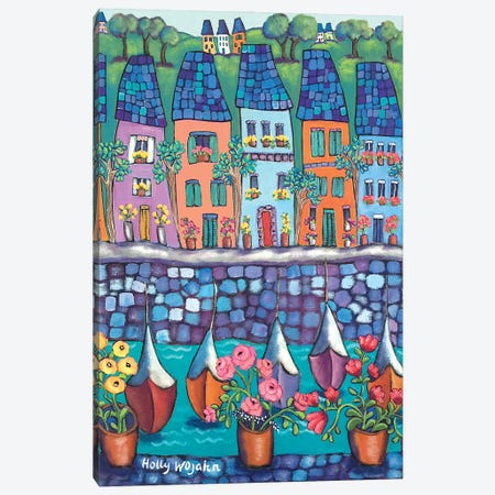 Ville Par La Port Canvas Print #HWJ28} by Holly Wojahn Canvas Art