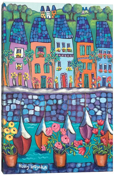 Ville Par La Port Canvas Art Print