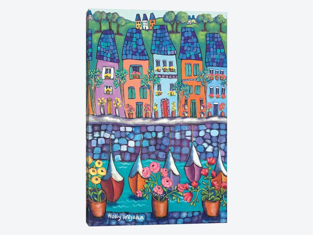 Ville Par La Port by Holly Wojahn 1-piece Canvas Artwork