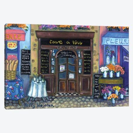 Wine Cave Canvas Print #HWJ30} by Holly Wojahn Canvas Print
