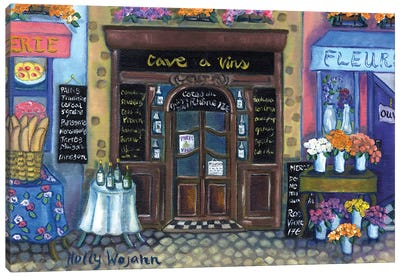 Wine Cave Canvas Art Print