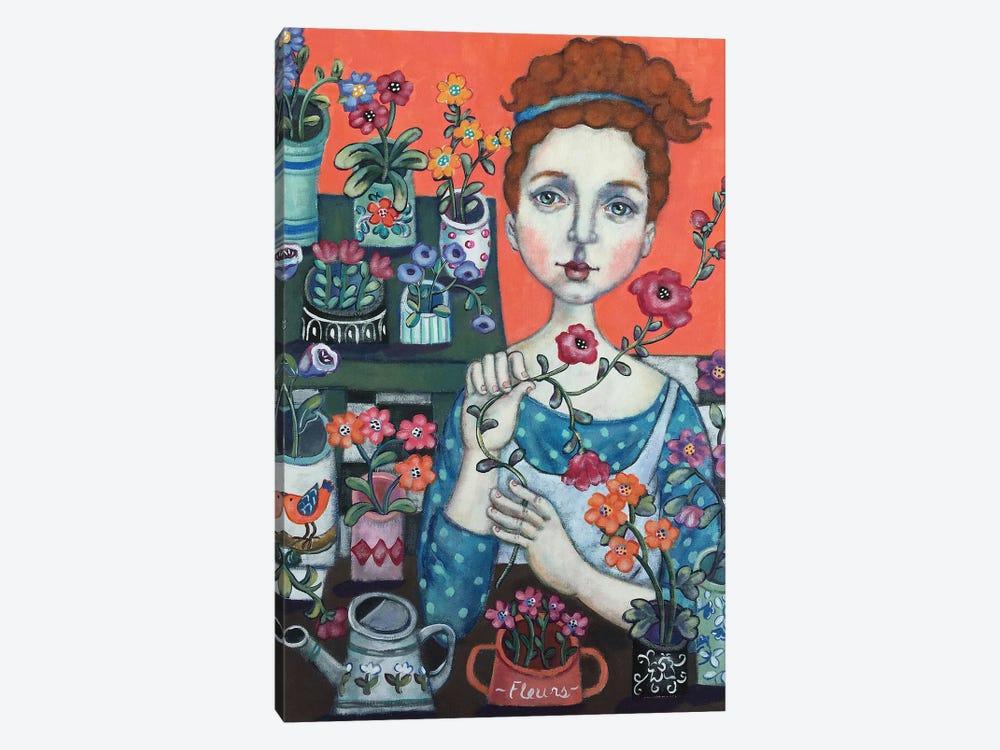 Belle Fleuriste by Holly Wojahn 1-piece Canvas Artwork