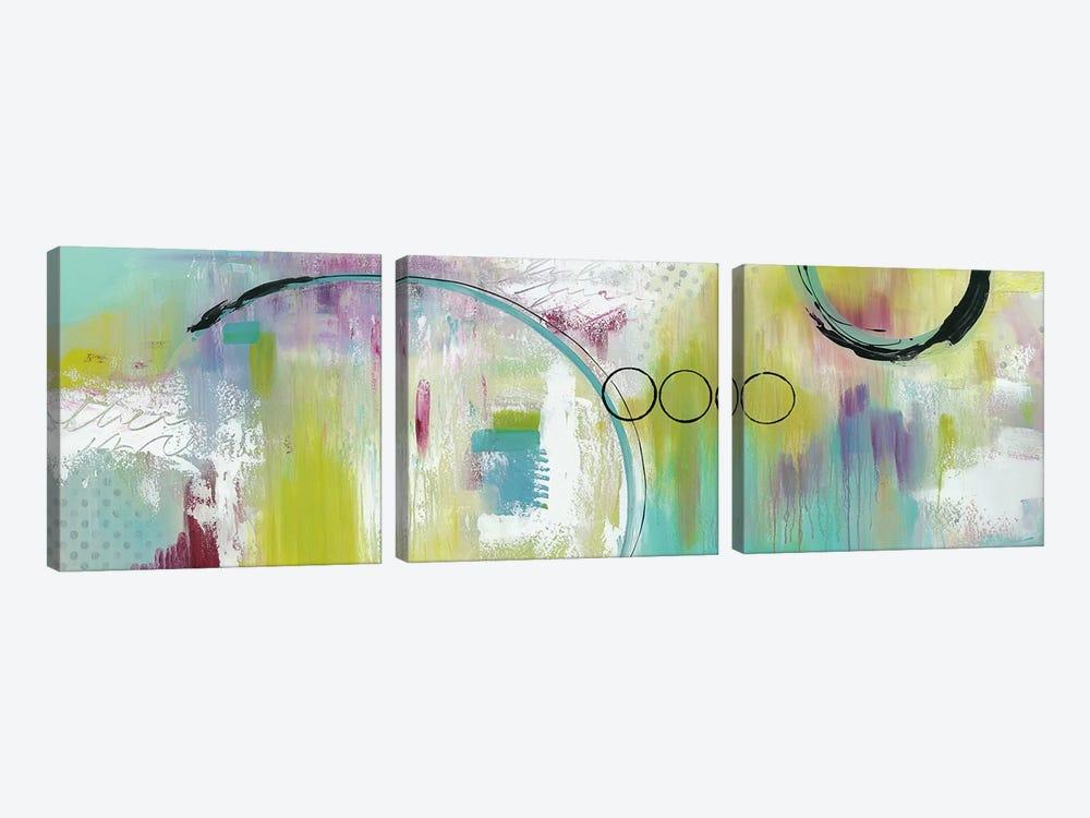 Just Beam Me Up by Julie Hawkins 3-piece Canvas Art