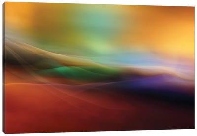 Watercolor Lines Canvas Art Print