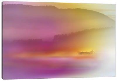 Watercolor Seascape Canvas Art Print