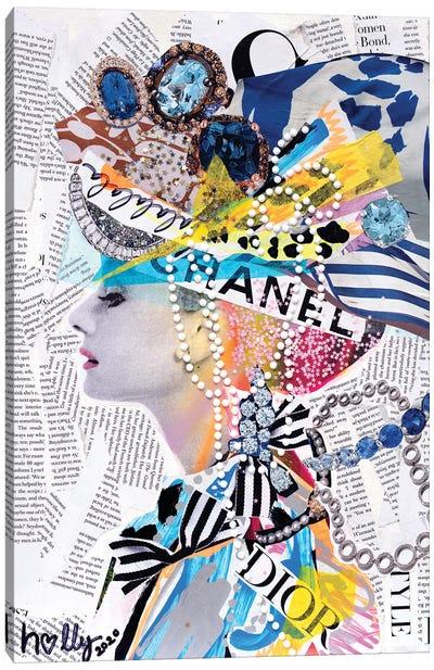 La La La Audrey Canvas Art Print