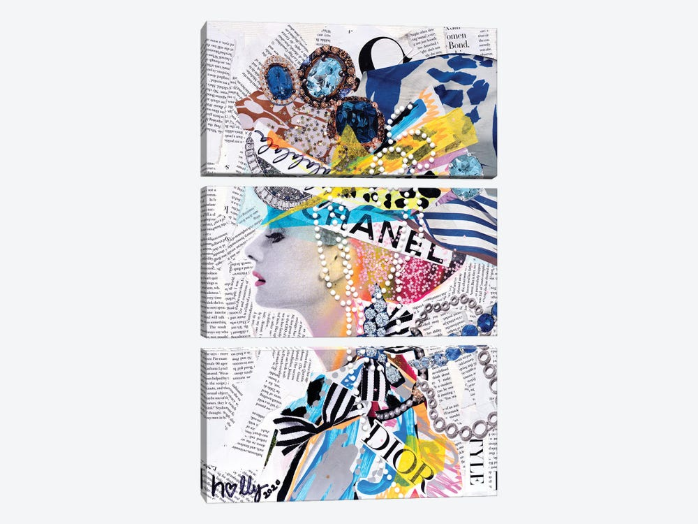La La La Audrey by HOLLYWOULD STUDIOS 3-piece Art Print