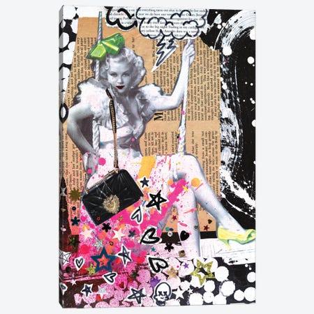 La La La Di Da Canvas Print #HWS14} by HOLLYWOULD STUDIOS Canvas Print