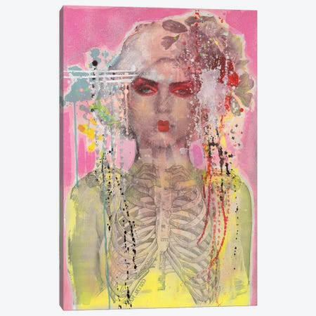 Debbie As Geisha Canvas Print #HWS3} by HOLLYWOULD STUDIOS Canvas Print