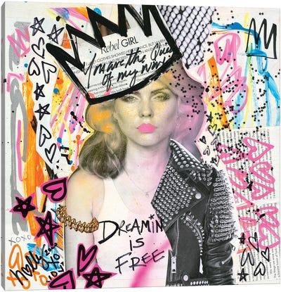 Dreamin  Debbie Canvas Art Print