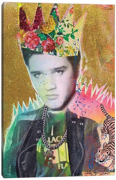 Elvis Is King Canvas Art Print