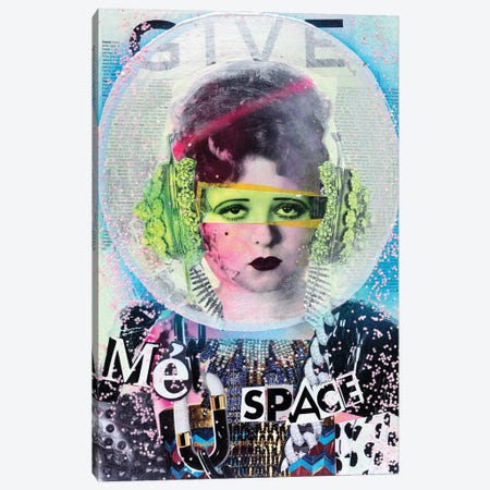 Give Me Space Canvas Print #HWS8} by HOLLYWOULD STUDIOS Canvas Art Print