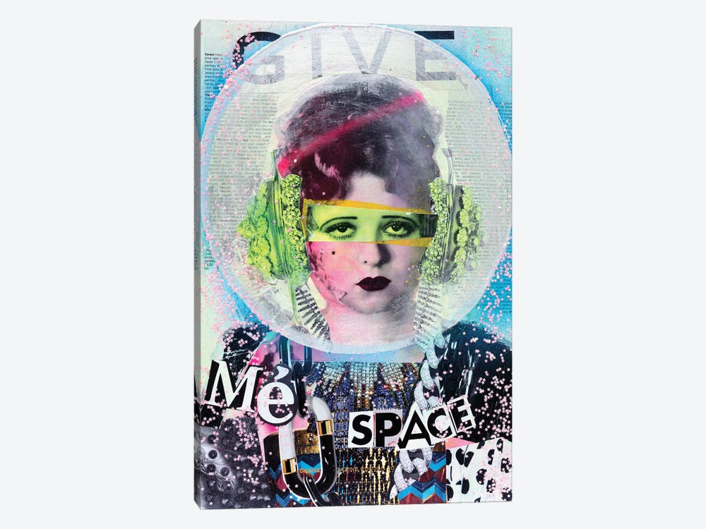 Give Me Space by HOLLYWOULD STUDIOS 1-piece Canvas Art Print