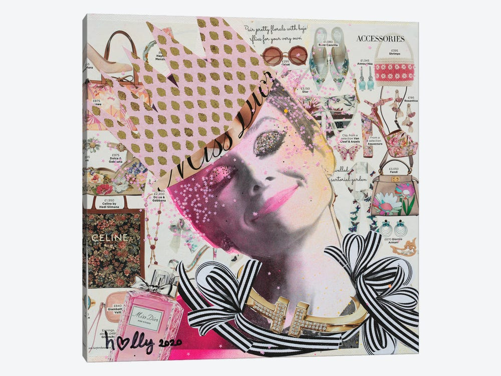 Happy Audrey by HOLLYWOULD STUDIOS 1-piece Canvas Art