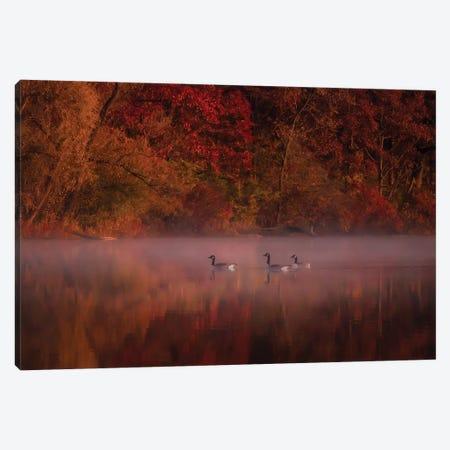 Autumn Impression Canvas Print #HXI1} by Hanping Xiao Art Print