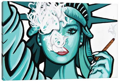 Free To Get Lifted Canvas Art Print
