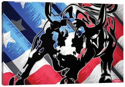 Raging Glory Canvas Art Print
