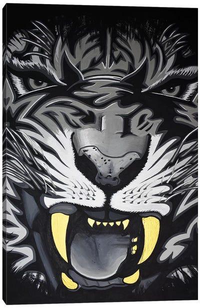 Roar Closeup Canvas Art Print
