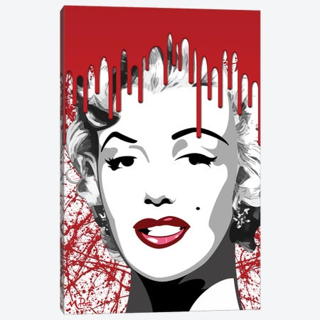 Bloody Mary Vertical Canvas Print #HYL2} by Hybrid Life Art Art Print
