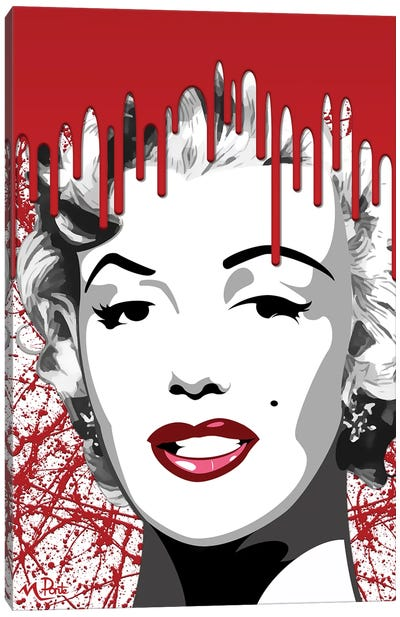 Bloody Mary Vertical Canvas Art Print