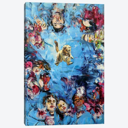 Gaze Catcher Canvas Print #HYU11} by Hyunju Kim Canvas Print