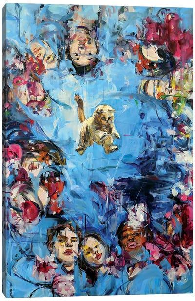 Gaze Catcher Canvas Art Print