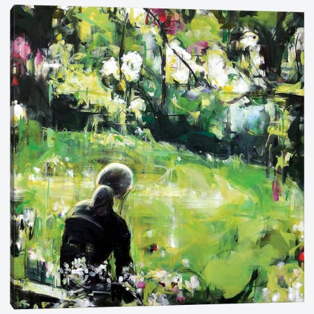 Last Spring Canvas Print #HYU14} by Hyunju Kim Canvas Artwork